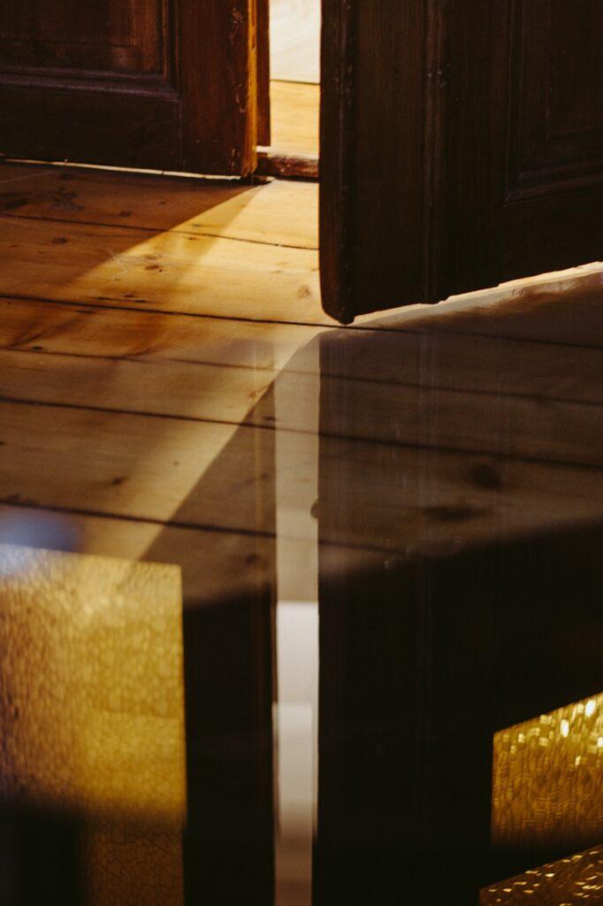 ny gulvlakering af trægulv